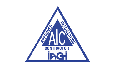 Logo aproved installation contractor AIC IAGI
